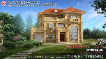 宏伟区农村房子设计图三