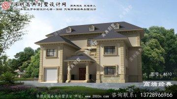 明水县自建小别墅图纸