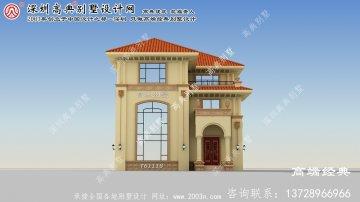 内江市143平别墅设计