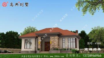 红河县20万农村小别墅设计