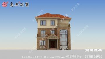 黄大仙区自建房三层设计图纸