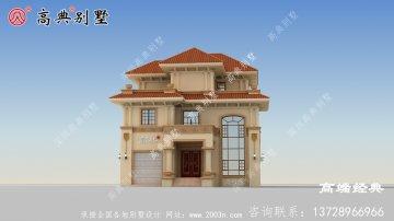 农村3层别墅设计