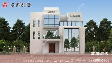 晋州市别墅设计图纸,造价40万左右,布