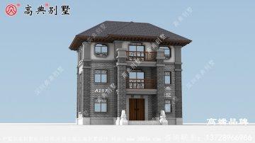 农村自建三层房设计过着潇洒自在