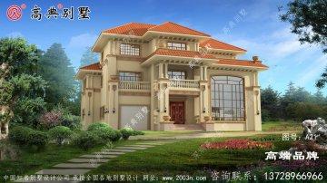 三层欧式别墅外观效果图大全款款