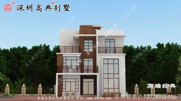 新款三层别墅设计方案,建好村里都来观