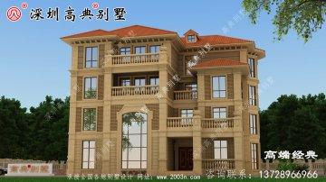 农村别墅设计图,带阳光花房+卧室套房,