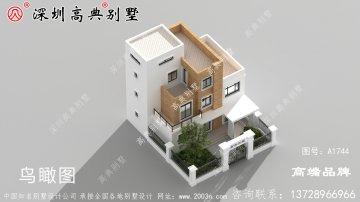 四层别墅设计图,让大家明白建房子怎么