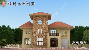 农村别墅为老家的父母建造舒适高雅的经